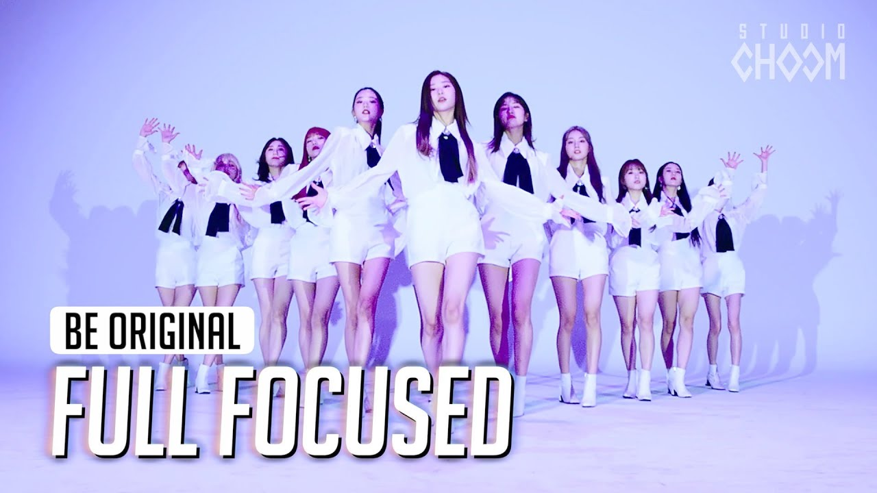 (Full Focused) IZ*ONE '환상동화(Secret Story of the Swan)' 4K | [BE ORIGINAL]