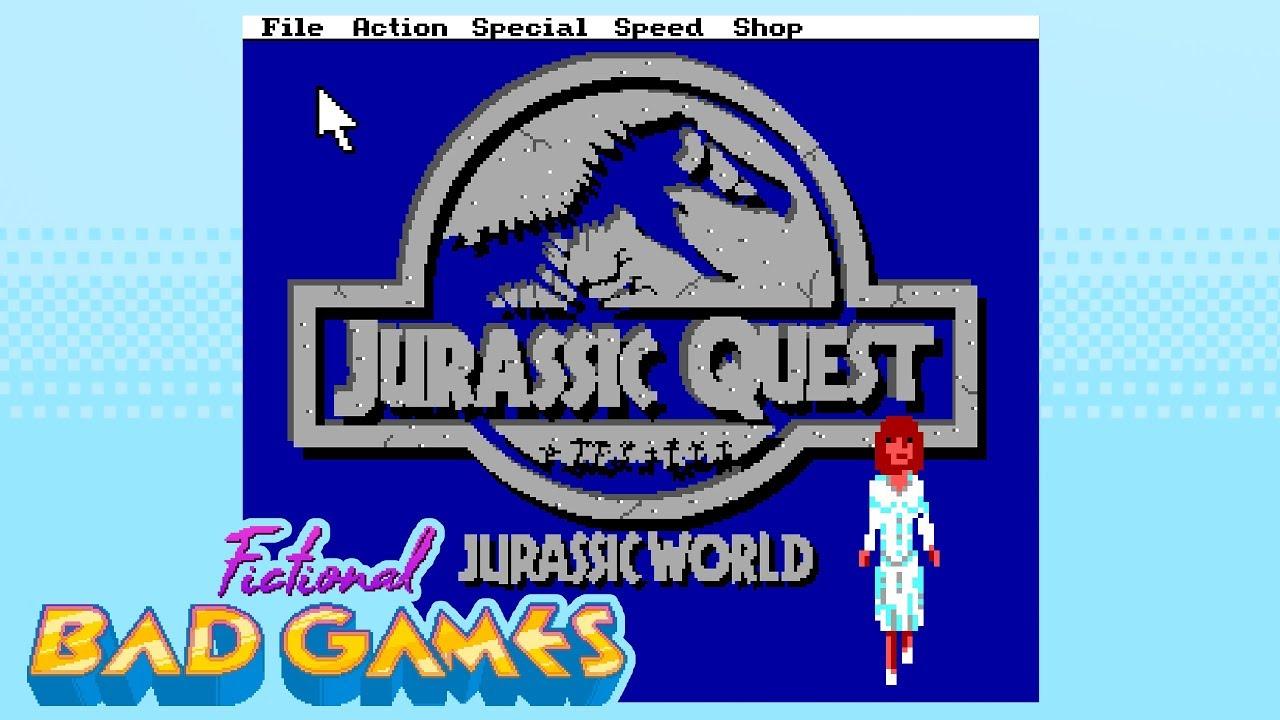 jurassic quest jurassic world sierra  fictional bad