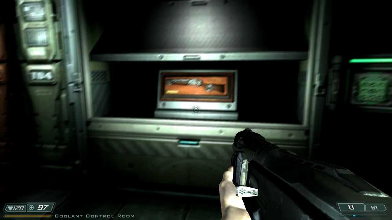 Doom3 BFG Edition - Lost Mission - Shotgun Code