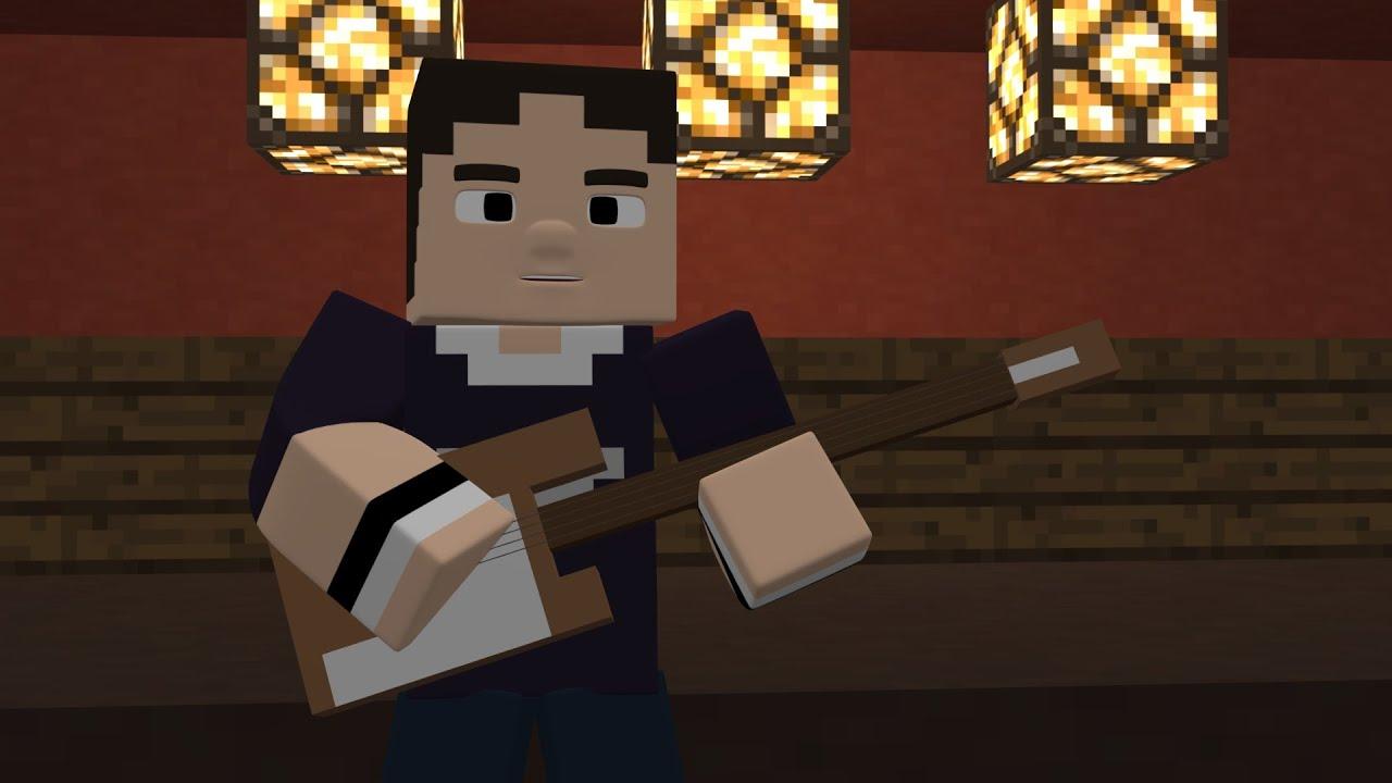 Scott Pilgrim vs. the World Bass Battle Scene in Minecraft