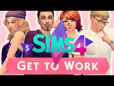 Let's Play The Sims 4: Get To Work (part 3) Rude Chief