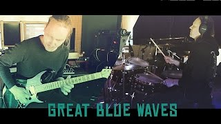 Mr. Fastfinger - Great Blue Waves (Spirit Rising) Mika Tyyskä, Kai Hahto, instrumental rock