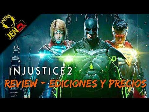 Injustice 2: Review - Ediciones y precios.