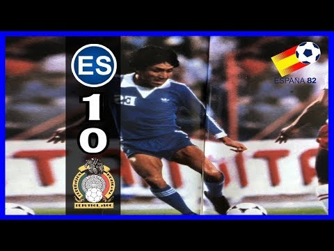 El Salvador [1] vs. Mexico [0] :11.6.1981: WCQ1982 [Highlights]