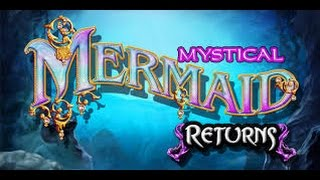 Mystical Mermaid Returns - HIGH LIMIT Live Play w/ Bonus and HUGE WIN