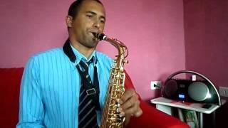 Hino harpa crista cristo cura sim  -Aprendendo sax alto