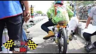 Drag Bike Tony Cupank KOLOR IJO Jupiter 130 cc & CREAMPIE MBKW2 fu 200 cc