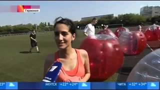 видео Бабл-футбол