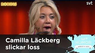 Camilla Läckberg slickar toaletthandtag från centralstation