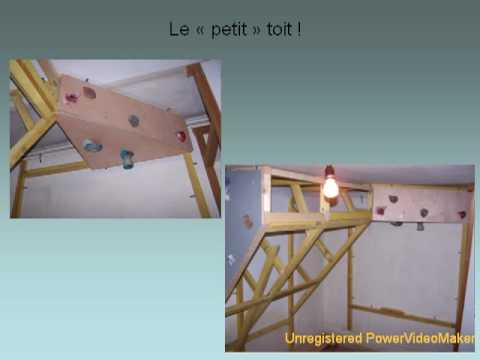 Fabuleux Construction du PAN d'escalade Heaven Climber 1 - YouTube WZ76