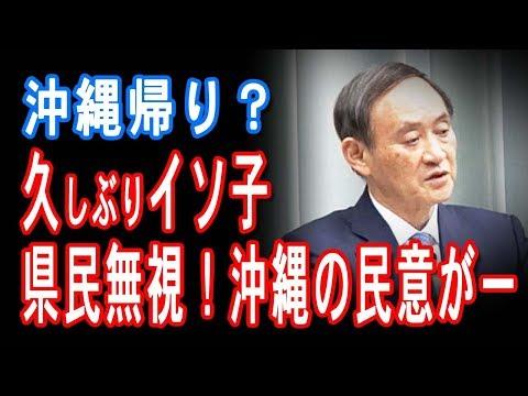 イソ子、先の会見観てから質問しろよ 「県民無視か!民意がー!」【JapanADch】190225pm