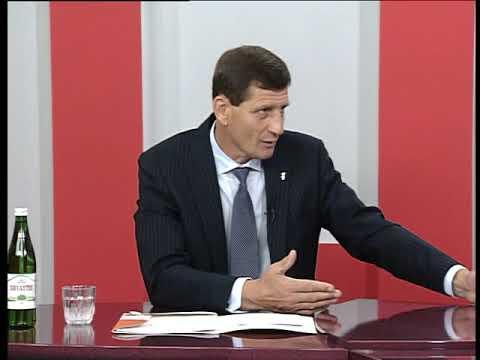 """Актуальне інтерв'ю. Спорт в області та конкурс """"Проект розвитку місцевого самоврядування"""""""