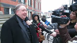 Matthew Vincent Raymond's defence lawyer Gilles Lemieux face Media!!!