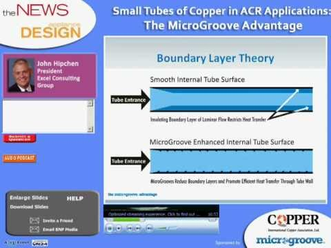 Webinar: Small Tubes of Copper in ACR Applications: The MicroGroove Advantage