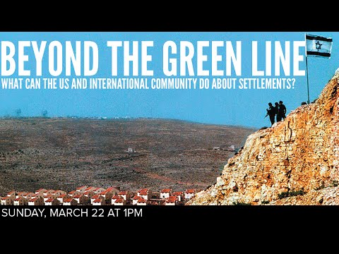 What Can the US and International Community Do About Settlements?