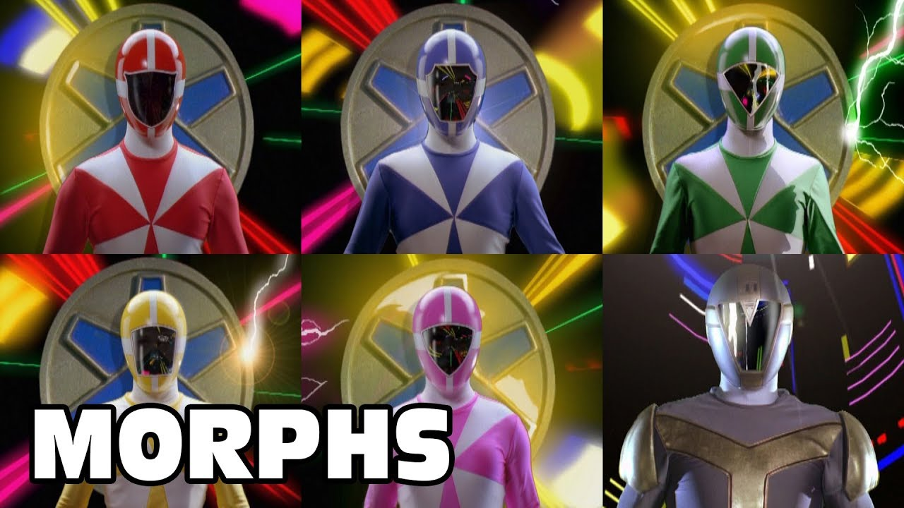 Download Lightspeed Rescue - All Ranger Morphs | Power Rangers Official