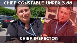 MUST WATCH POLICE AUDIT, CHIEF CONSTABLE & CHIEF INSPECTOR SECTION 88, WALK OF SHAME