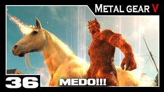 Metal Gear Solid V: The Phantom Pain - Parte #36 - Proteger os Restos do Homem em Chamas
