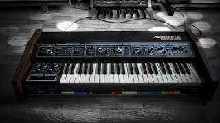 Roland Jupiter-4 Analog Synthesizer (1978) Child Of The 80s - retrowave track