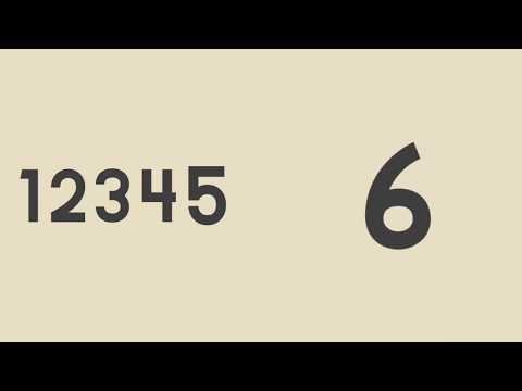 Números Ímpares e Pares de 1 a 10 - Método Montessoriano - Link na descrição
