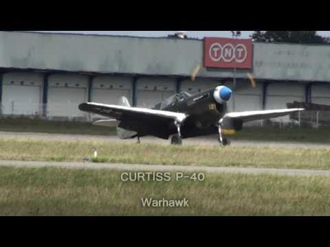 CURTISS P40 vs ZERO  [HD]