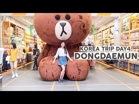 Korea Trip 2017 Day 4 ⎮Dongdaemun, Itaewon & more