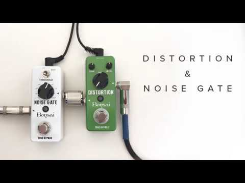Bonsai Music Supply - Distortion & Noise Gate Review
