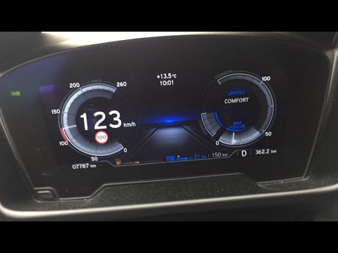 2017 BMW i8 0 120 km h eDrive