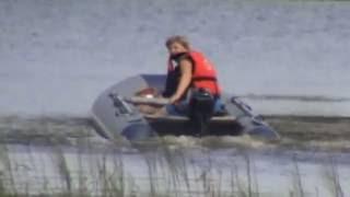 первое управление моторной лодкой Вуокса