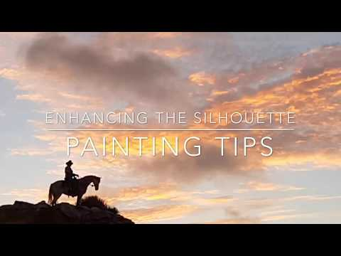 Painting tips – enhancing the silhouette