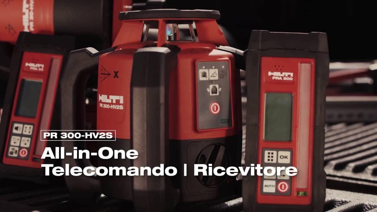 Misuratore Laser Rotante Pr 300 Hv2s Youtube