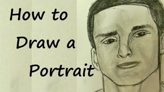 Ep. 35  How to Draw a Portrait Part 1 of 2