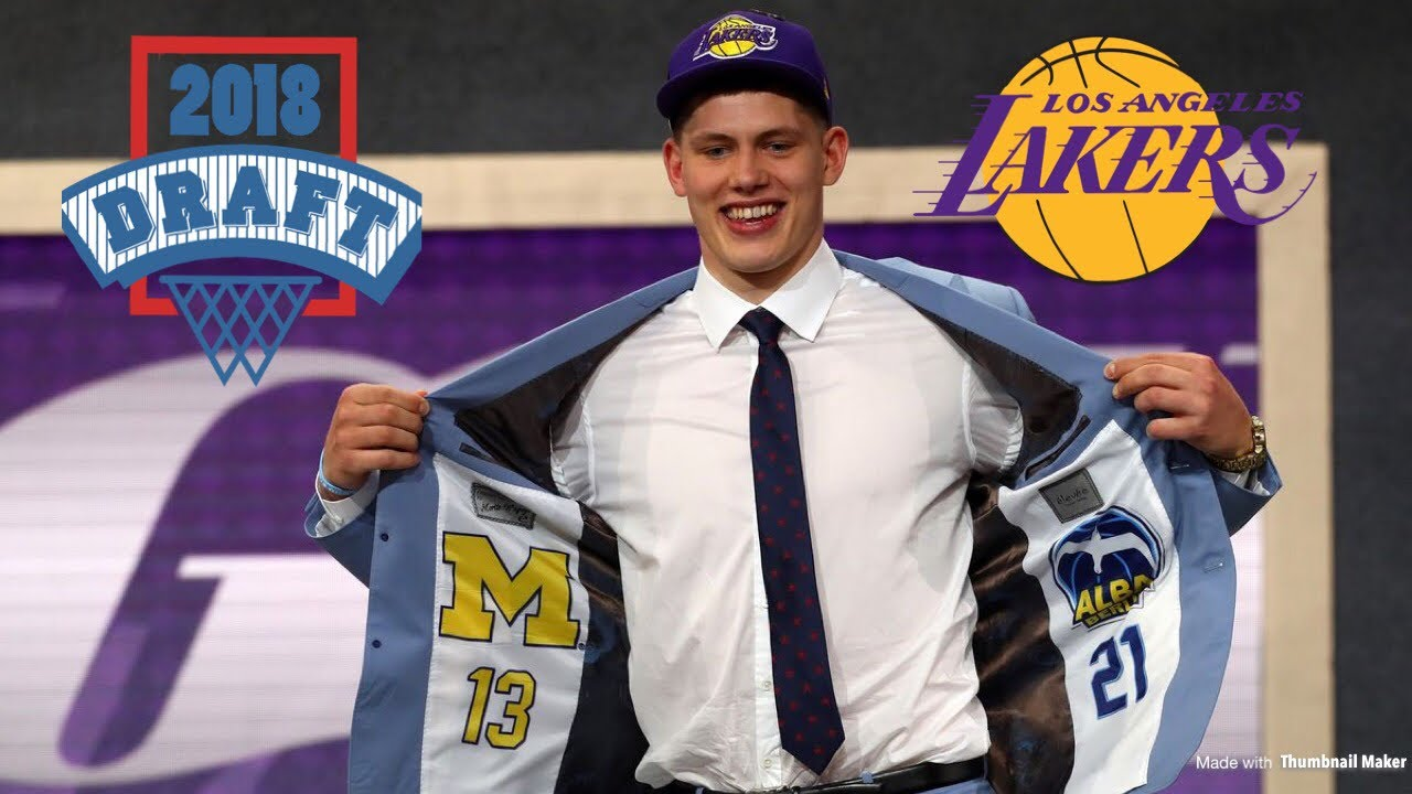 c9c144e8c98a Lakers Select PF C Moritz Wagner with the 25th Pick