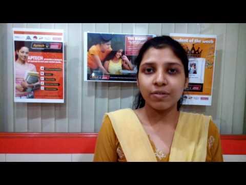 Student Testimonial for Aptech Hazra, Behala, Budge Budge