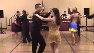 Anchor Dance Studio: 2015 Liberty State Bell Ballroom Dancing Competition Rumba Open Heat