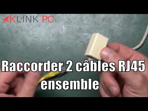 Tuto Comment Raccorder Ou Rallonger 2 Cables Réseaux Rj
