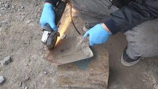 スコップを再生する。Restoration of the  shovel recycle&remake