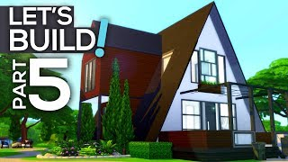 Let's Build a Modern A-Frame House! // Part 5