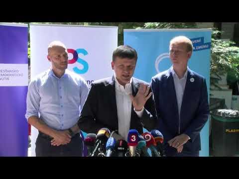 Lídri PS a Spolu hovoria o rokovaniach s KDH