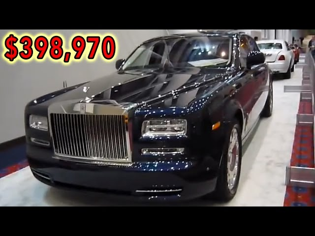 2013 rolls-royce phantom sedan - base price $398,970.00 - exterior