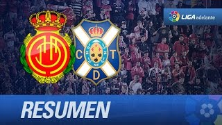 Resumen de RCD Mallorca (2-1) CD Tenerife