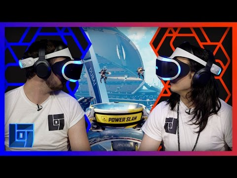 Ali A vs Mantrousse PlayStation VR HEAD TO HEAD | Legends of Gaming