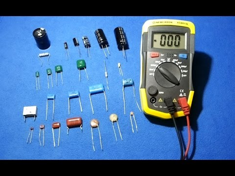 How To Test A Capacitor How To Test Smd Capacitors With