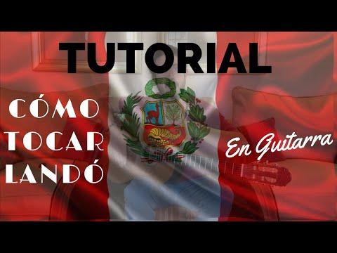 Cómo Tocar Landó En Guitarra - TUTORIAL