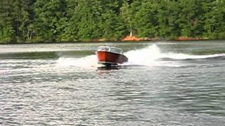 1963 Chris Craft Wood Jet Boat