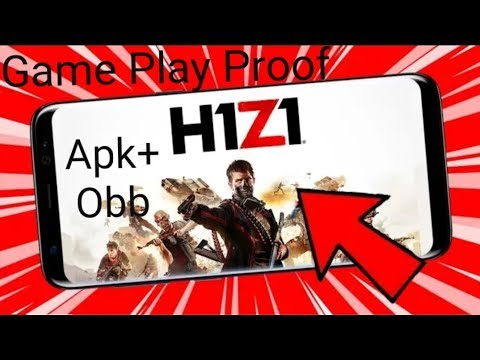 How To Download H1Z1 Apk+Obb Android And IOS Devices