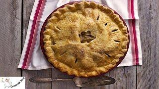 Традиционный американский яблочный пирог