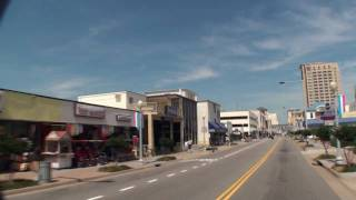 Virginia Beach, VA - Atlantic Avenue, West Side - Summer