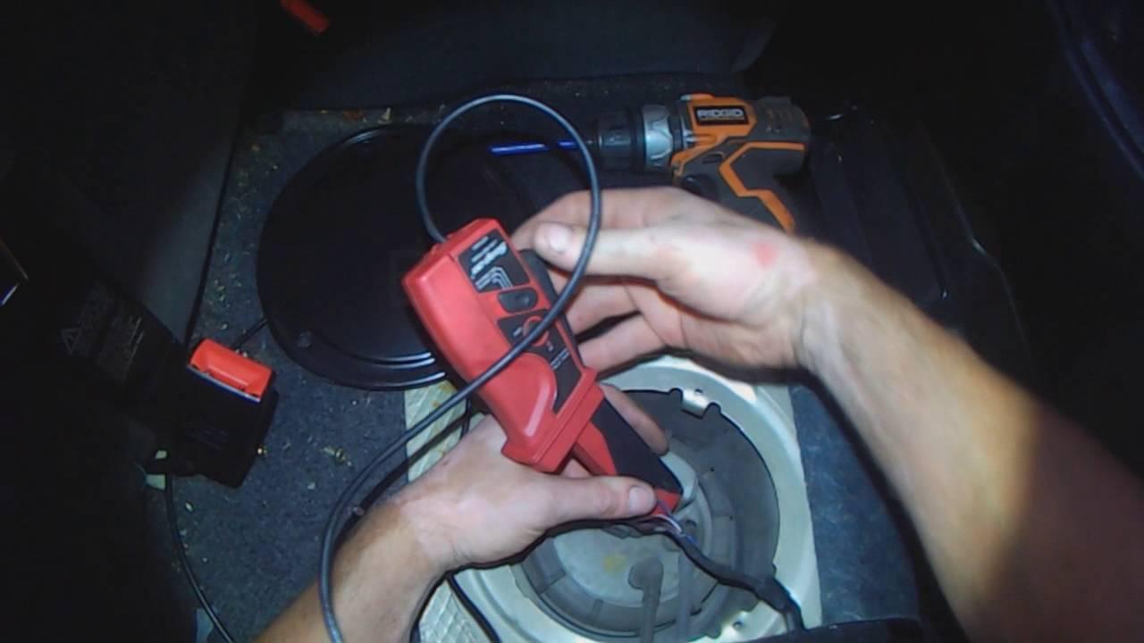vw a4 golf jetta quick fuel pump health check [ 1280 x 720 Pixel ]