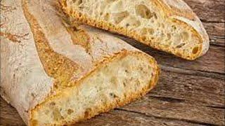 Как приготовить чиабатту без опары без замеса и остаться с чистыми руками Я нашла этот рецепт 0